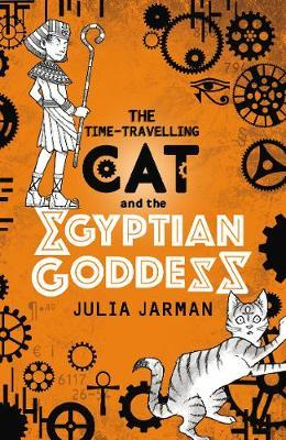 The Time-Travelling Cat and the Egyptian Goddess by Julia Jarman image