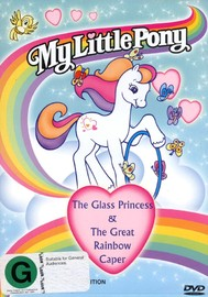 My Little Pony - The Glass Princess/The Great Rainbow Caper on DVD image