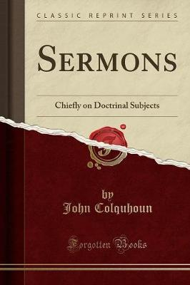Sermons by John Colquhoun