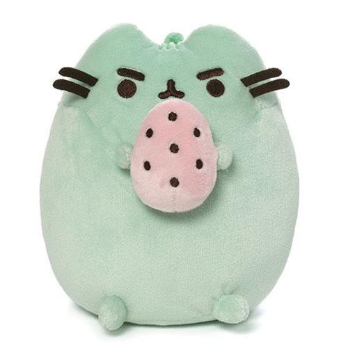 "Pusheen the Cat: Pusheenosaurus (Green with Egg) - 6"" Plush"