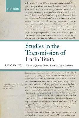 Studies in the Transmission of Latin Texts