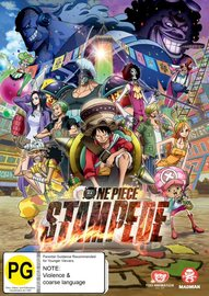 One Piece: Stampede on DVD image