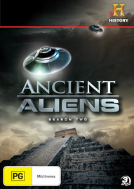 Ancient Aliens - Season 2 on DVD