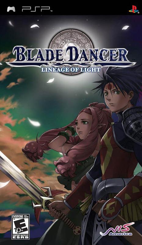 Blade Dancer: Lineage of Light for PSP