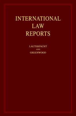 International Law Reports: v. 1-125