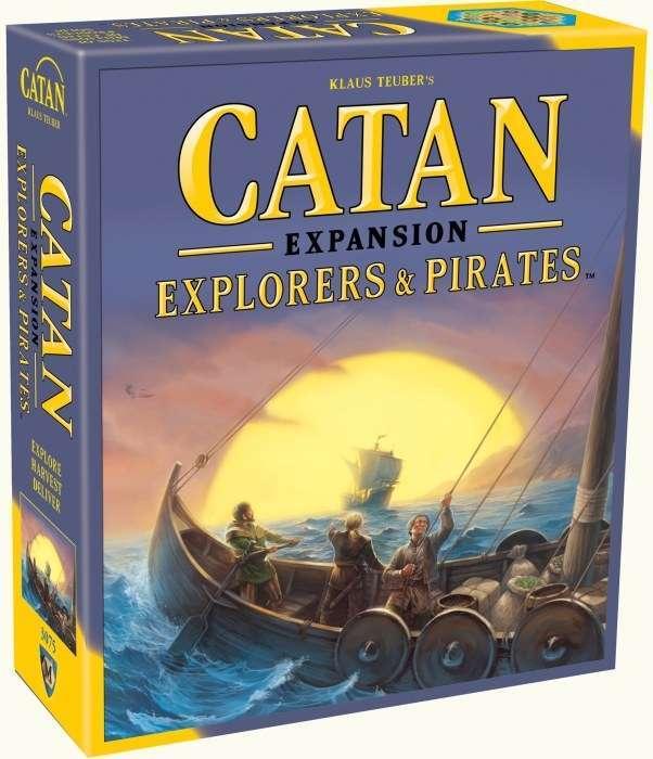 Catan: Explorers & Pirates image