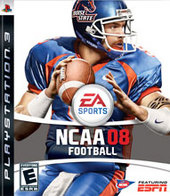 NCAA Football 08 for PS3