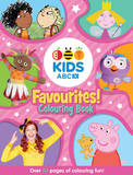 ABC KIDS Favourites! Colouring Book (Pink) by Abc