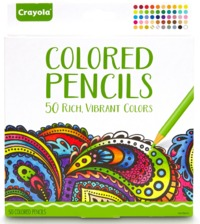 Crayola Colour Escapes: Colouring Pencils - 50 Pack