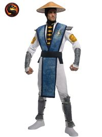 Mortal Combat Raiden Costume (Size X-Large)