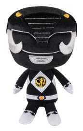 Power Rangers - Black Ranger Hero Plush image