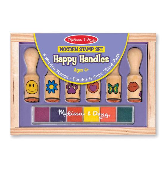 Melissa & Doug: Happy Handle Stamp Set image