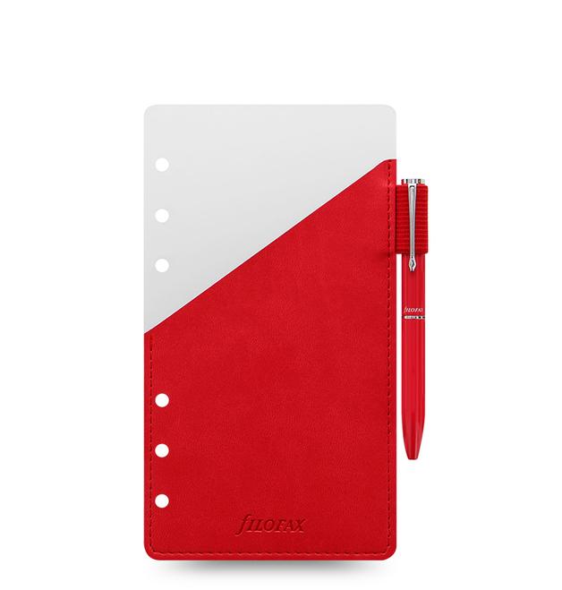 Filofax Personal Pen Loop - Red