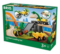 Brio: Lumber Loading - Railway Set