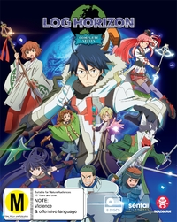 Log Horizon - The Complete Series on Blu-ray