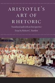 """Aristotle's """"Art of Rhetoric"""" by * Aristotle"""