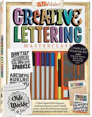 Art Maker Creative Lettering Masterclass Kit (portrait) image