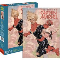 Marvel: 500 Piece Puzzle - Captain Marvel Cover