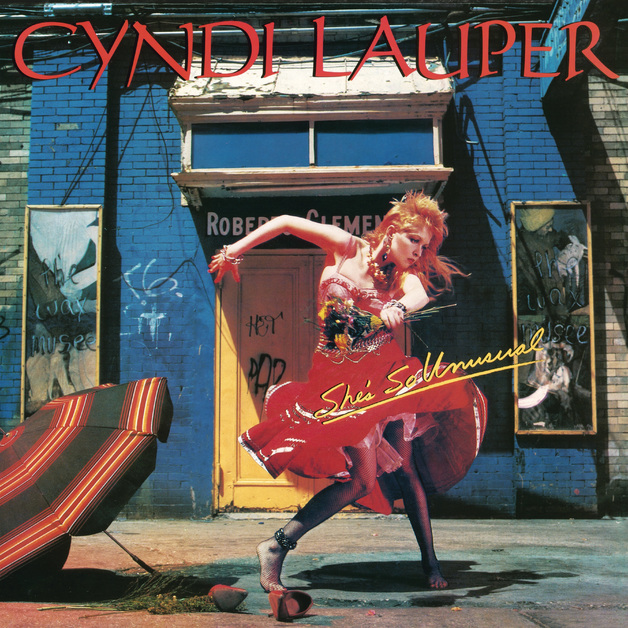 She's So Unusual (LP) by Cyndi Lauper