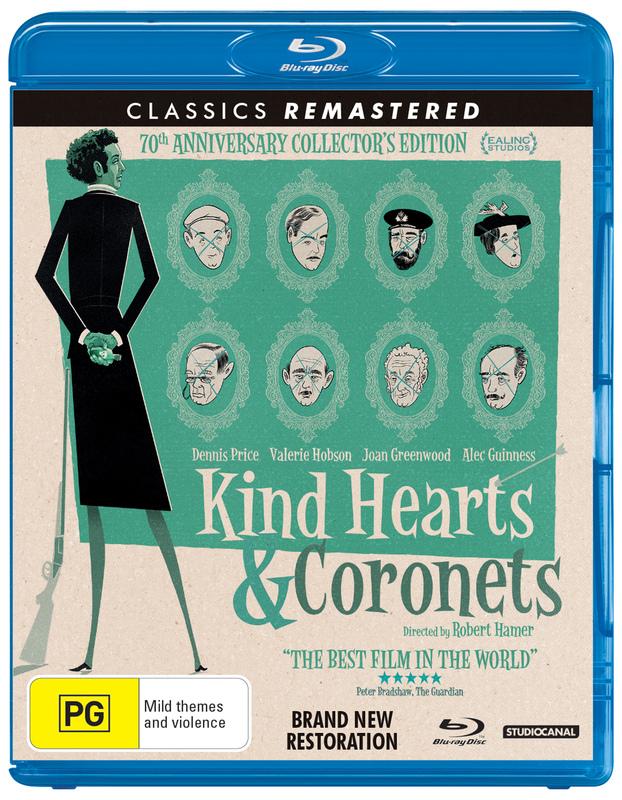 Kind Hearts And Coronets on Blu-ray