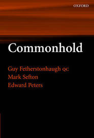 Commonhold by Guy Fetherstonhaugh, QC image