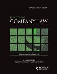 Unlocking Company Law by Susan Mclaughlin image