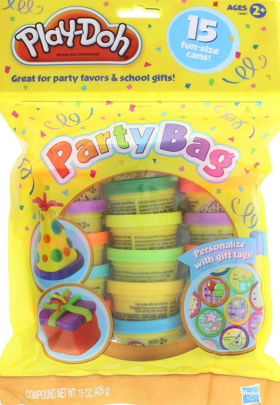 Play-Doh Party Bag - 15 Cans with Gift Tags