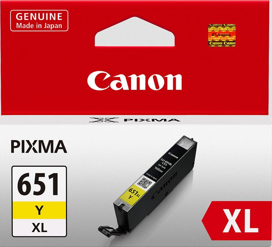 Canon Ink Cartridge - CLI651XLY (Yellow High Yield) image