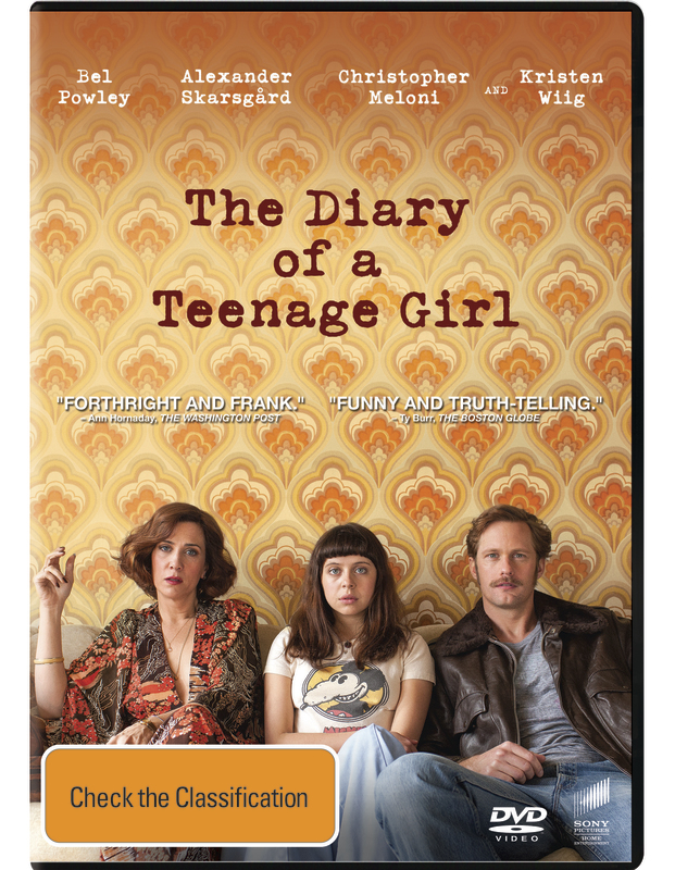 The Diary of a Teenage Girl on DVD
