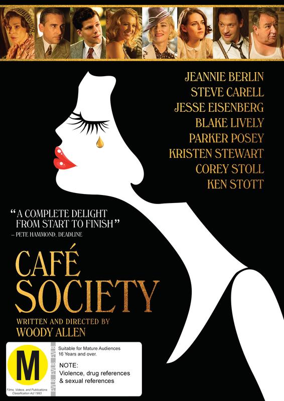 Café Society on DVD