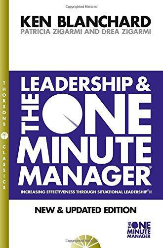 Leadership and the One Minute Manager by Kenneth Blanchard image