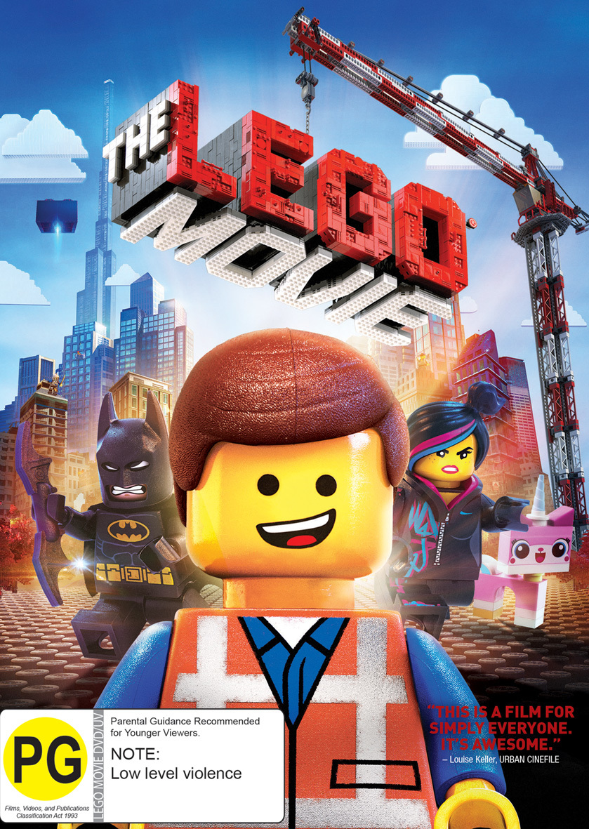 The Lego Movie Dvd In Stock Buy Now At Mighty Ape Nz