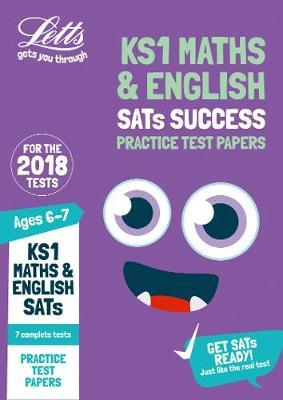KS1 Maths and English SATs Practice Test Papers by Letts KS1