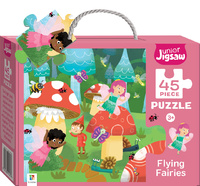 Junior Jigsaw: Small Puzzle - Flying Fairies (45pc)