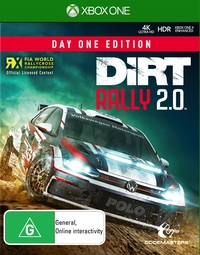 DiRT Rally 2.0 Day One Edition for Xbox One