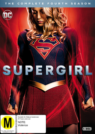Supergirl: The Complete Fourth Season on DVD image