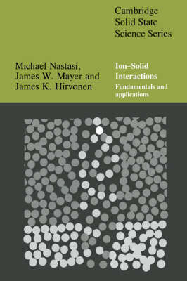 Cambridge Solid State Science Series by Michael Nastasi image