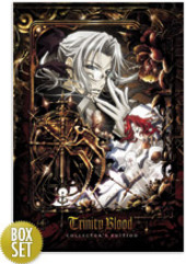 Trinity Blood - Chapter 1 with Collector's Box on DVD
