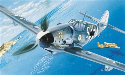 Italeri Messerschmitt BF-109 G6 1:72 Model Kit image