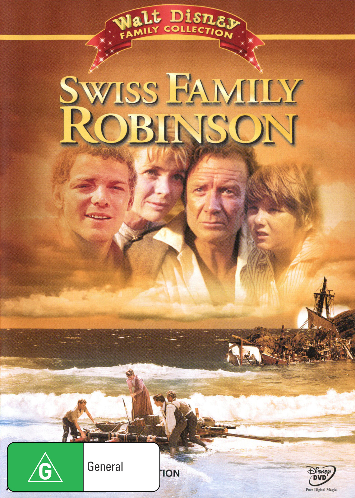 Swiss Family Robinson (1960) on DVD image
