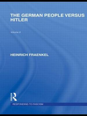 The German People versus Hitler by Heinrich Fraenkel