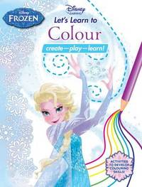 Disney Learning - Let's Learn to Colour