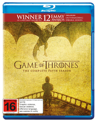 Game of Thrones - The Complete Fifth Season on Blu-ray
