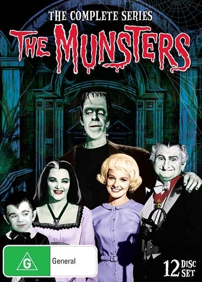 The Munsters - The Complete Series Collection on DVD image