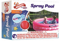 Wahu: Nippas Inflatable Spray Pool - Pink