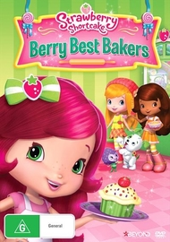 Strawberry Shortcake Berry Best Bakers - Season 4 Volume 3 on DVD