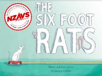 The Six-Foot Rats by Rebecca Gibbs image