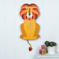 Wall Clock - Lion