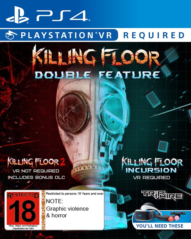 Killing Floor Double Feature VR for PS4