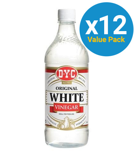 DYC: White Vinegar 750ml (12 Pack)